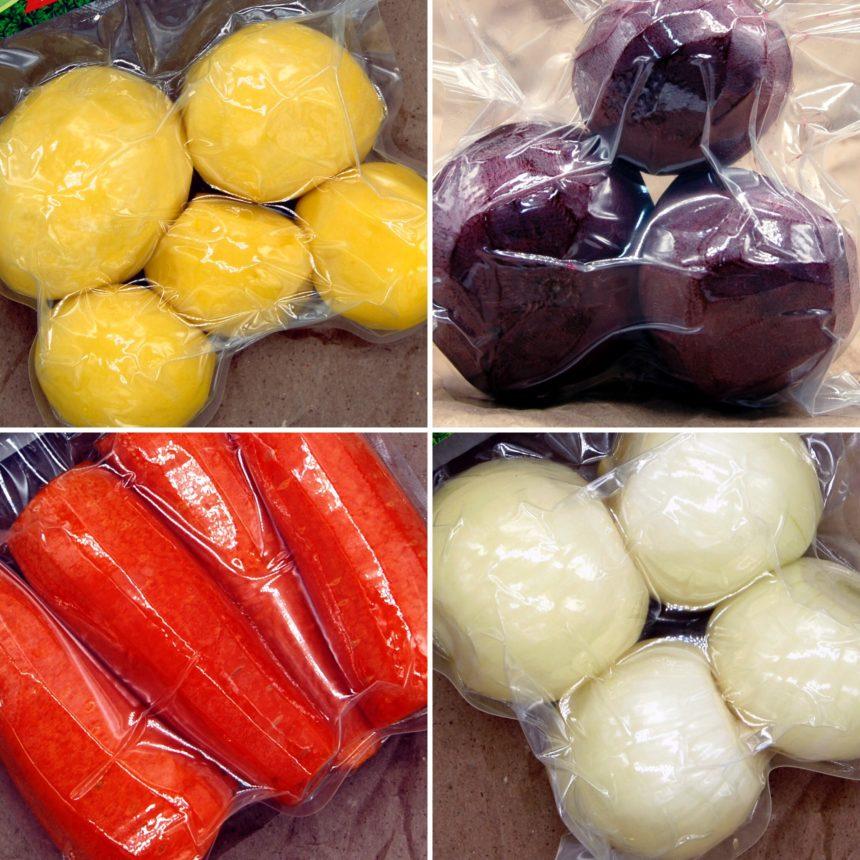 Наши овощи в магазинах Красный Яр